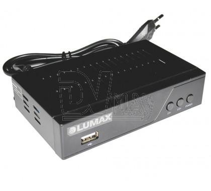 Цифровой ресивер LUMAX 3205HD DVB-T2/C с дисплеем, WI-FI и MeeCast