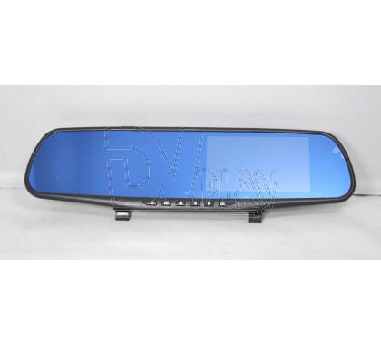 Автомобильный видеорегистратор в зеркале Vehicle Blackbox DVR DV-180 с 2 камерами