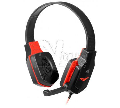 Defender Warhead G-320 гарнитура игровая черно-красная