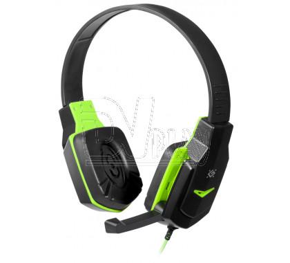 Defender Warhead G-320 гарнитура игровая черно-зеленая