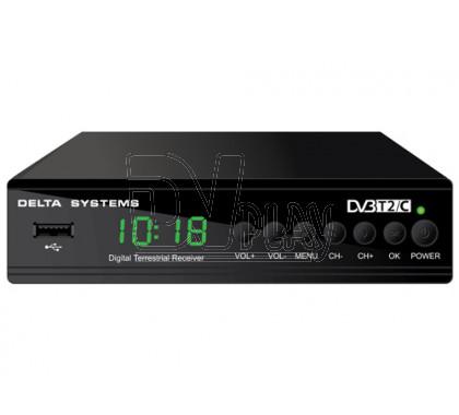 Delta DS-950HD+ с Dolby Digital, обучаемым пультом, Wi-Fi