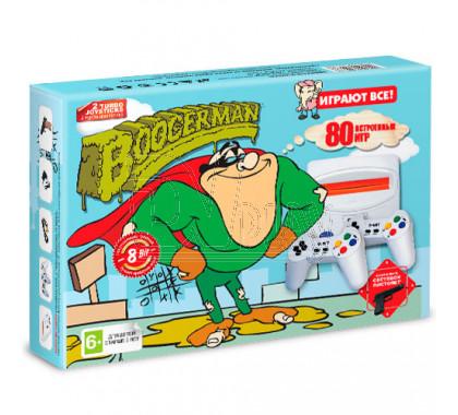 Игровая приставка 8bit Boogerman (80 игр)