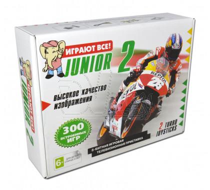 Dendy Junior 2 Classic mini + 300 игр 8 bit