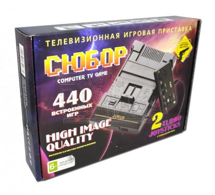 Игровая приставка 8bit Сюбор (440 игр)