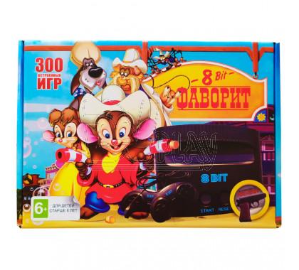 Игровая приставка 8bit Фаворит (300 игр)