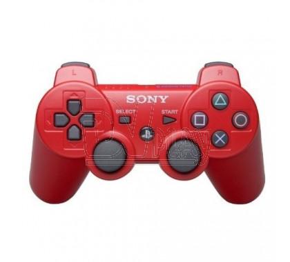 Джойстик PS3 красный