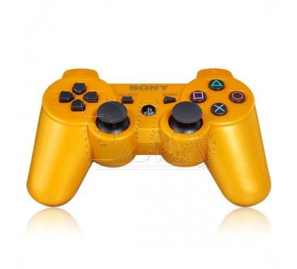 Джойстик PS3 золотой