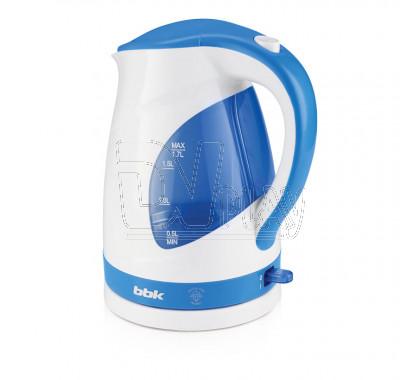 Электрический чайник BBK EK1700P белый/голубой