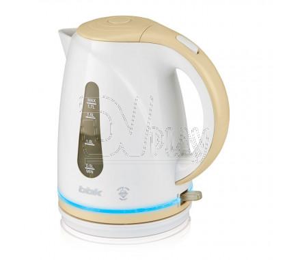 Электрический чайник BBK EK1701P белый/бежевый
