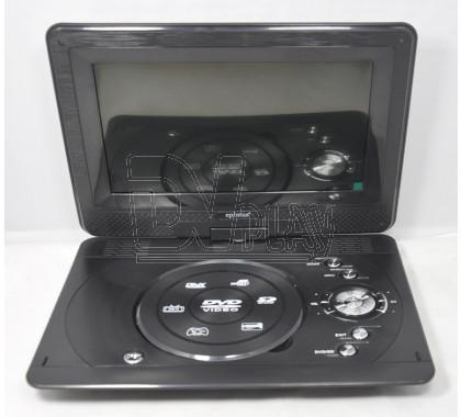 Eplutus EP-1027T портативный DVD + TV (Analog + DVB-T2)