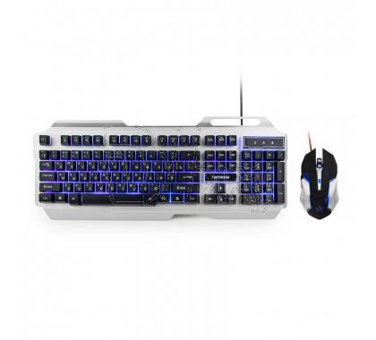 Комплект Гарнизон GKS-510G (клавиатура + мышь) с подсветкой