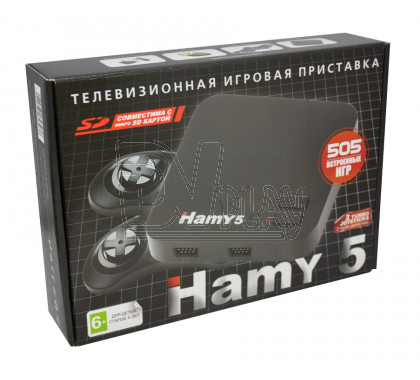Hamy 5 черная