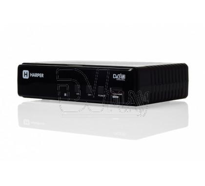 Harper HDT2-1513 приставка DVB-T2 + кабель 3RCA