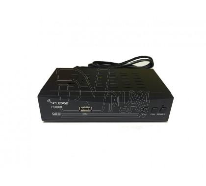 Selenga HD860 с дисплеем + кабель 3RCA