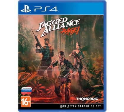 Jagged Alliance: Rage! (русская версия) (PS4)