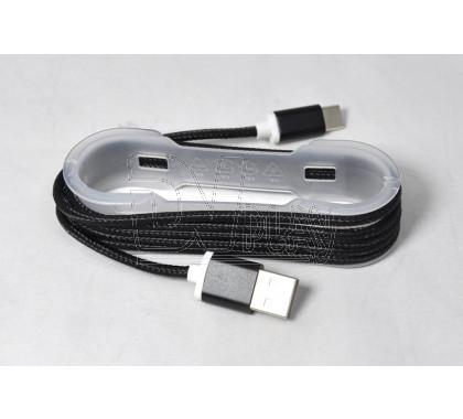 Кабель USB A - USB Type-C (1,5 м) в оплетке