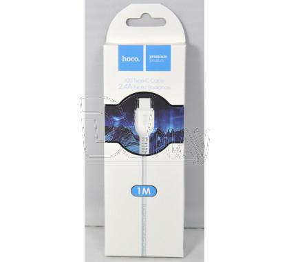Кабель USB A - USB Type-C (1 м) Hoco. X20