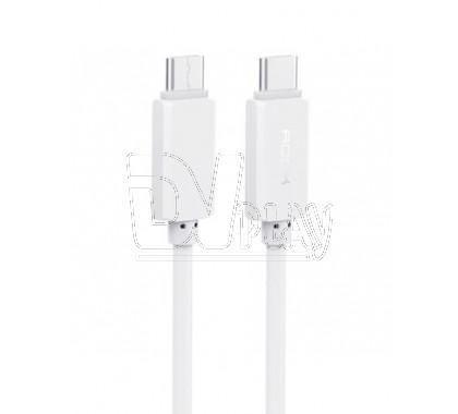 Кабель USB Type-C - USB Type-C (1 м) Rock