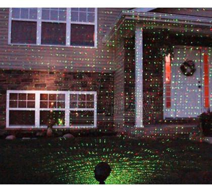 Лазерный проектор уличный (точки)