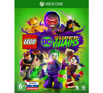 Lego DC Super-Villains (русские субтитры) (XBOX One)