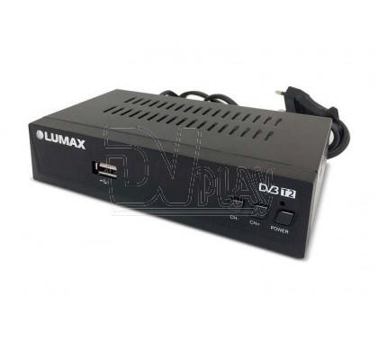 Цифровой ресивер LUMAX 3201HD DVB-T2/C с дисплеем, WI-FI и MeeCast