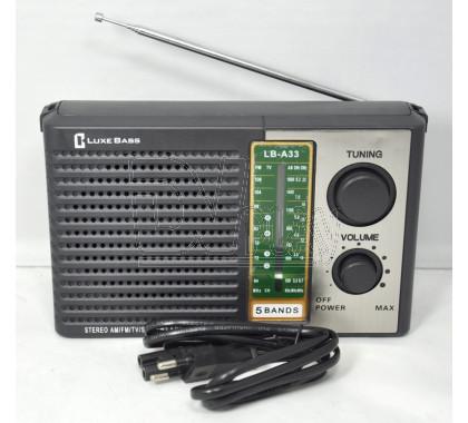 Радиоприемник LUXEBASS A33