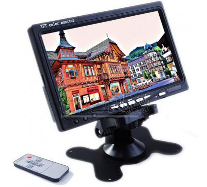 Монитор для камеры заднего вида 7 на панель