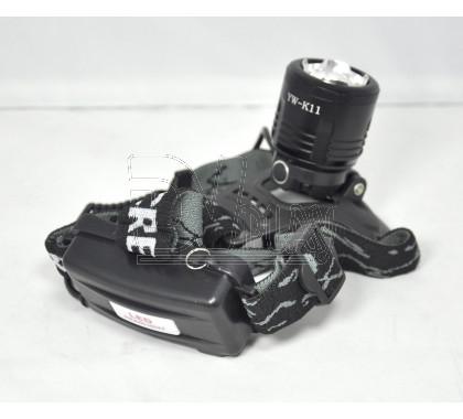 Налобный фонарь аккумуляторный для рыбалки HL-K11