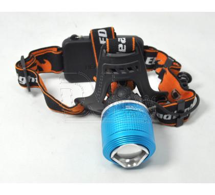 Налобный фонарь аккумуляторный HL-033 T6