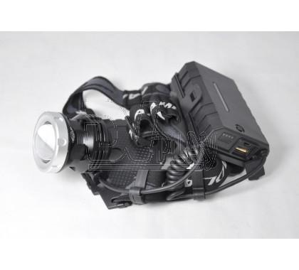 Налобный фонарь аккумуляторный HT-671-P50