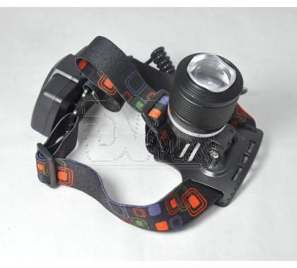 Налобный фонарь аккумуляторный P-T138-P50