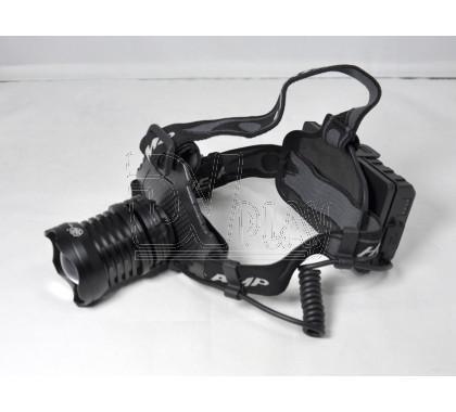Налобный фонарь аккумуляторный P-T70