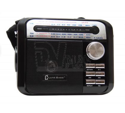 Радиоприемник LUXEBASS A14 (USB\SD\MP3) + фонарик