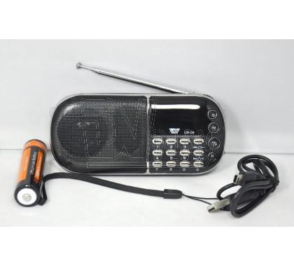 Радиоприемник NGY UN-09 (Дисплей\USB\ microSD\MP3\АКБ18650)