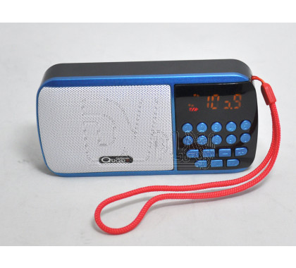 Радиоприемник Qugo QG-777 (Дисплей\USB\microSD\АКБ18650)