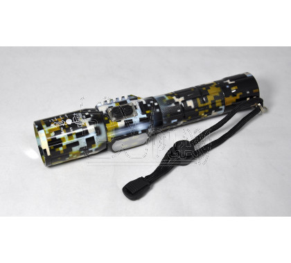 Ручной фонарь аккумуляторный H-585 microUSB + COB