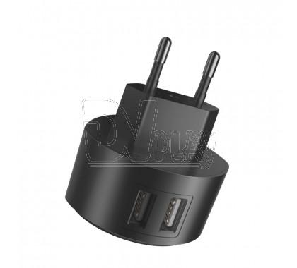 Зарядное устройство 2 USB 2.4А Hoco. C67A