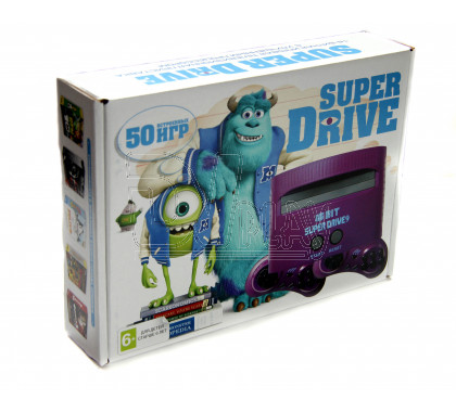 Sega MD Monster Inc (50-in-1)