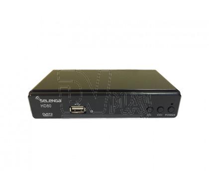 Selenga HD80 с дисплеем + кабель 3RCA
