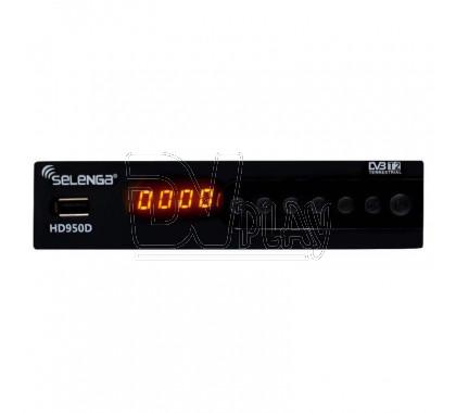 Selenga HD950D DVB-T2/C с дисплеем + кабель 3RCA