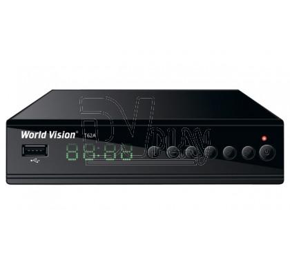 World Vision T62A DVB-T2/C с дисплеем + универсальный пульт, Wi-Fi