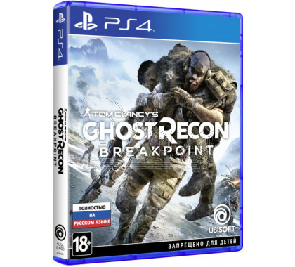 Tom Clancy's Ghost Recon: Breakpoint (русская версия) (PS4)