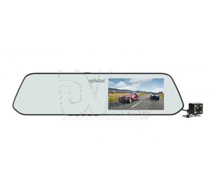 Видеорегистратор в зеркале Eplutus D01 с 2 камерами