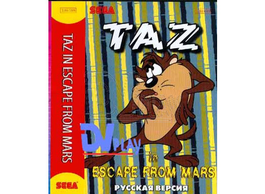 Taz in Escape from Mars (16 bit)