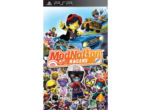 ModNation Racers (русская версия) (PSP)