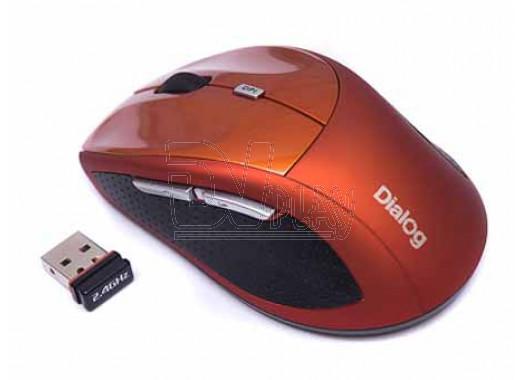 Мышь Dialog Katana MROK-18U оранжевая