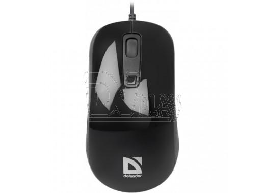 Мышь Defender MB-060 Datum USB черная