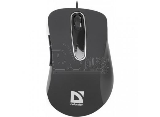 Мышь Defender MM-070 Datum USB черная