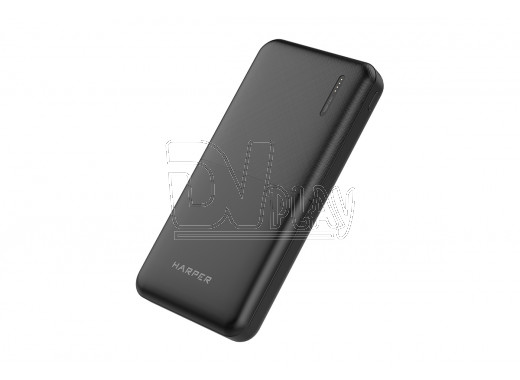 Power bank HARPER PB-10011 (10 000 mAh, Lit-pol) черный