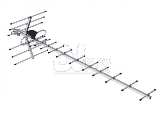 Наружная активная антенна BAS-1159-5V Орбита-19